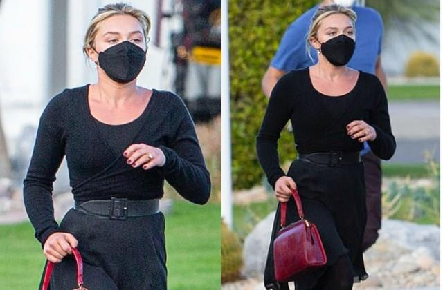 florence pugh spotted in los angeles
