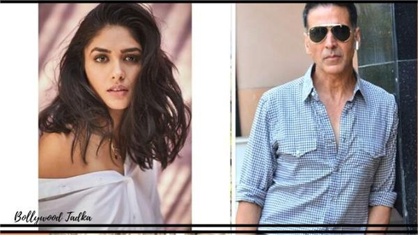 mrunal thakur work with akshay kumar