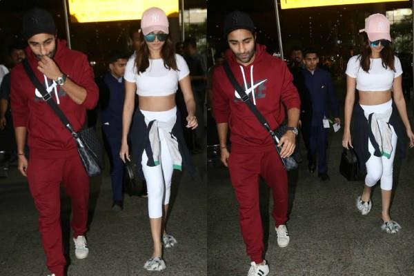 tara sutaria and aadar jain return to mumbai after spending some time in london