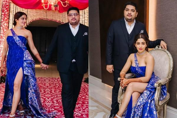 neha pendse shardul singh bayas reception party pictures