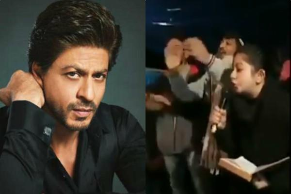 shahrukh khan silence on caa protesters making fun of him