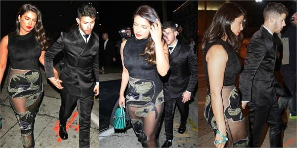 priyanka chopra dinner date with husband nick jonas
