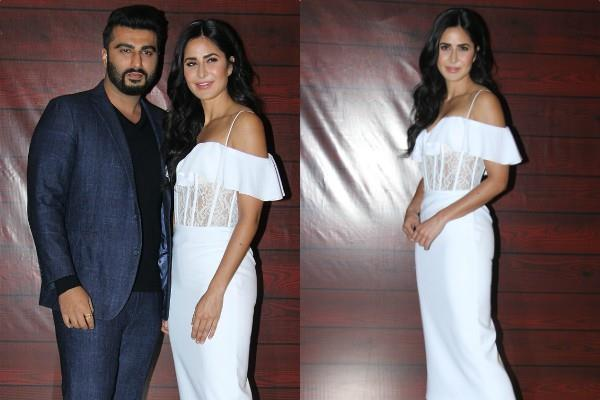 katrina kaif arjun kapoor at javed akhtar 75th birthday bash