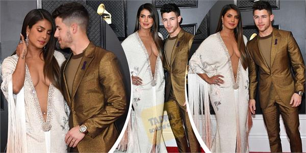 priyanka chopra looks bold as she attends grammy 2020 award night with hubby