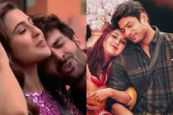 kartik aaryan and sara ali khan do mimicry of shehnaaz gill and sidharth shukla