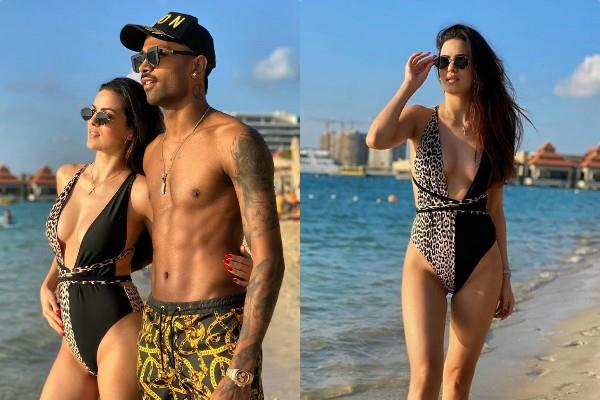 natasha stankovic share bold picture with hardik pandya