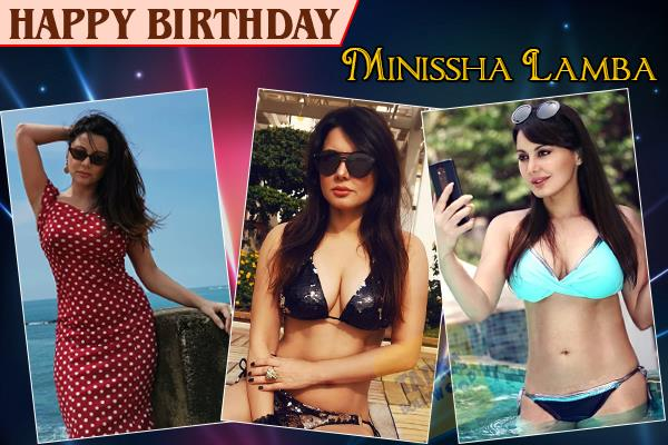 birthday special minissha lamba wanted to be a journalist before actress