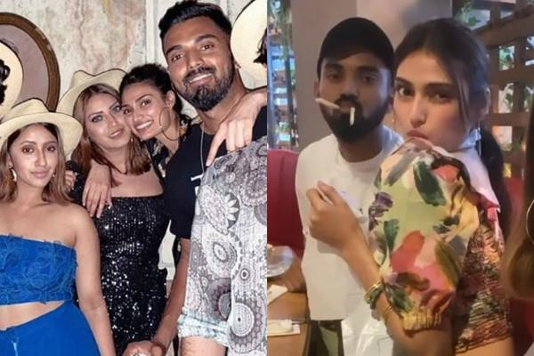 athiya shetty and kl rahul thailand vacation pictures viral