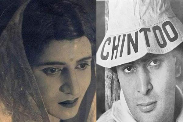 rishi kapoor shares pic of pran dressed as a woman see pic