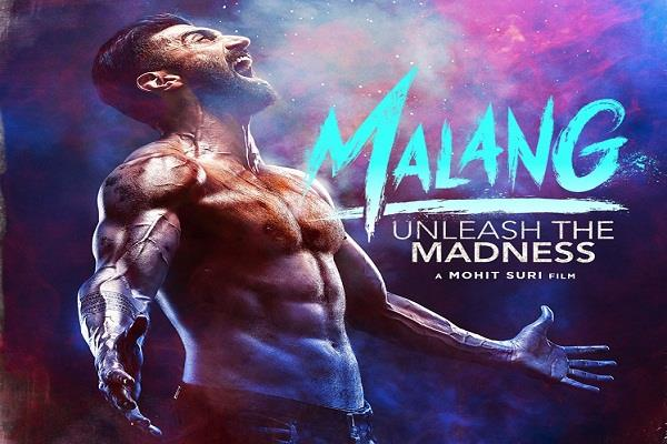 aditya roy kapoor muscular body seen in first look poster of malang