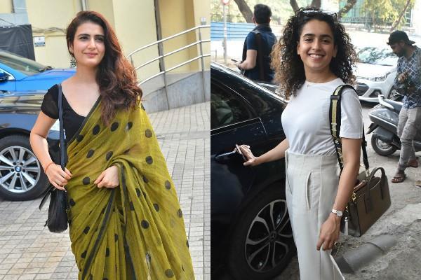 fatima sana sheikh sanya malhotra looks stunning in these pictures