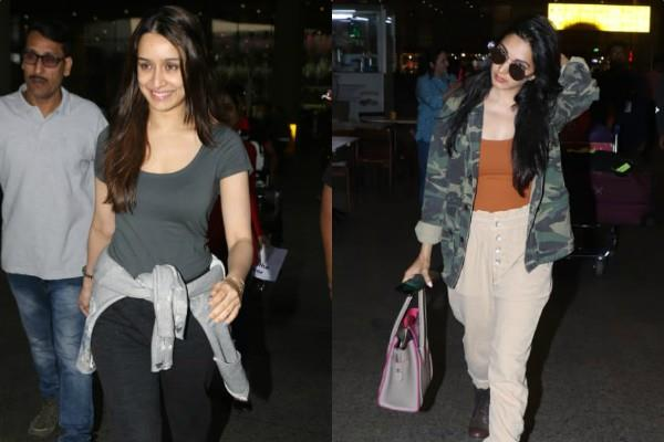 shraddha kapoor and kiara advani spotted at airport