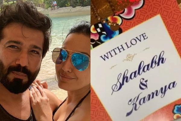 kamya punjabi ready to tie the knot with shalabh dang share wedding card photo