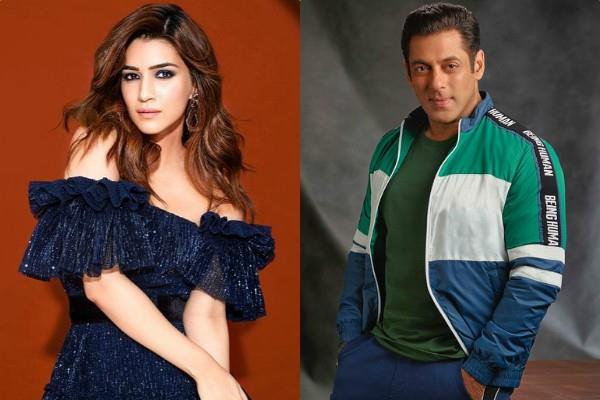 salman khan will romance with kriti sanon in kabhi eid kabhi diwali