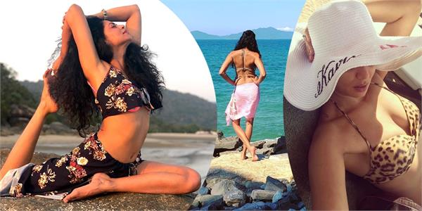kavita kaushik breaks internet temperatures with her latest pictures