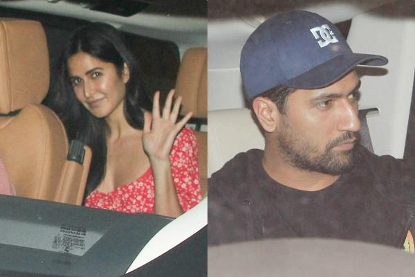 katrina vicky spark off rumours again as they spotted at producer dinner party