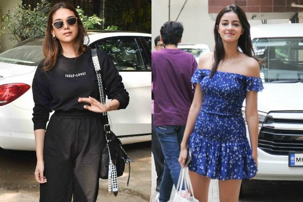 aditi rao hydari and ananya panday looked stunning