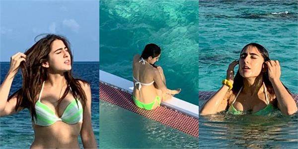 sara ali khan raised the internet temperature with her latest pictures