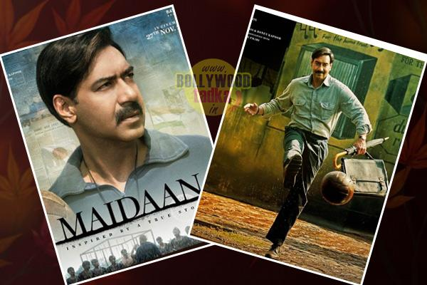 maidaan first poster  ajay devgn looks impressive as a football coach