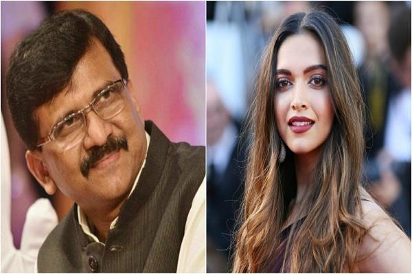 shiv sena came out in support of deepika