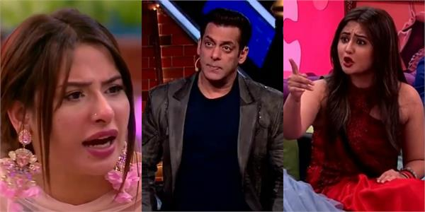 mahira rashmi get into ugly fight in front of salman khan