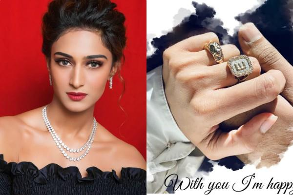 is the tv actress erica fernandes engaged