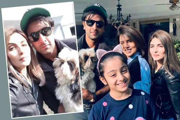 ranbir kapoor shares family pictures with mother and sister see them here