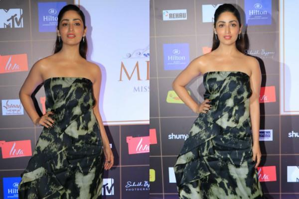 yami gautam spotted at miss diva event