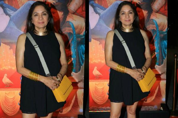 neena gupta looks bold at shubh mangal zyada saavdhan trailer success bash