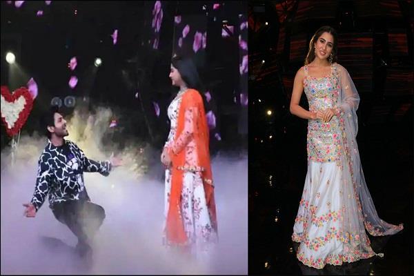 Indian Idol 11: कार्तिक की इस हरकत से उड़े सारा के होश, घुटनों पर बैठकर कंटेस्टेंट को किया प्रपोज