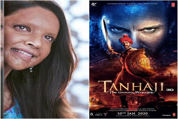 know who will win chhapak vs tanaji box office clash