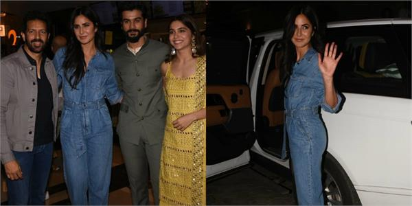 katrina kaif attends vicky kaushal brother sunny kaushal movie screening