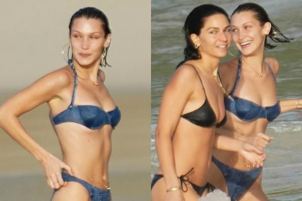 bella hadid flaunts her toned body in her bikini pictures