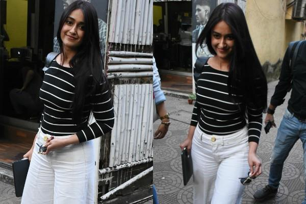 ileana d cruz spotted at salon