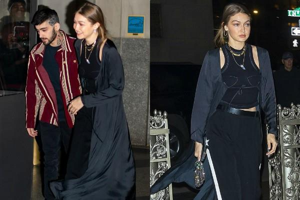 gigi hadid attend ex boyfriend zayn malik birthday party