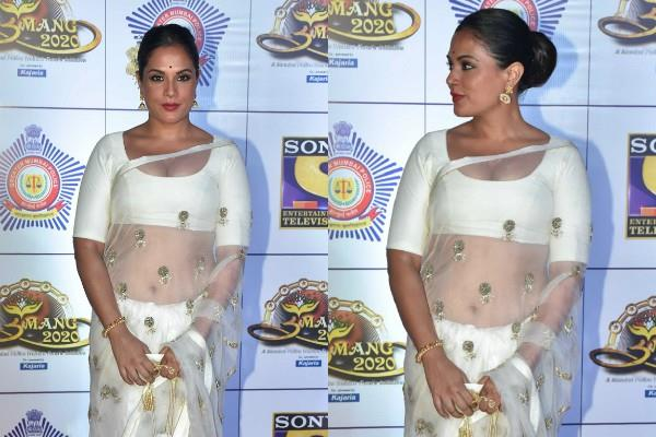 richa chadda looks beautiful in saree