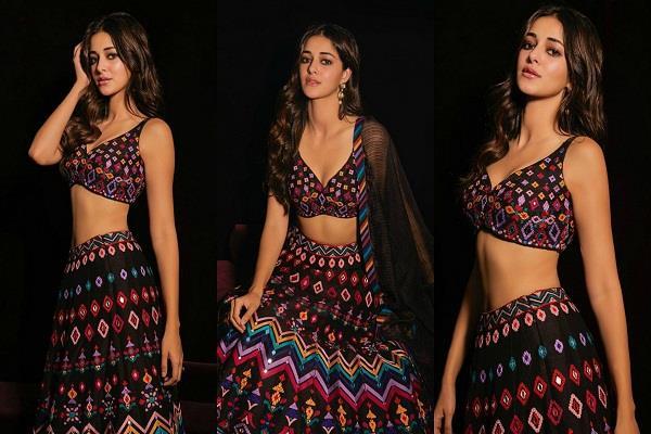ananya pandey looks beautiful in the ethnic wear