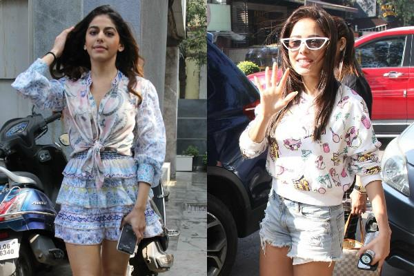 alaia furniturewalla and nushrat spotted at juhu