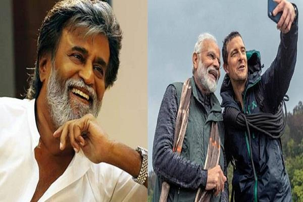 rajinikanth will be seen in man vs wild after prime minister modi