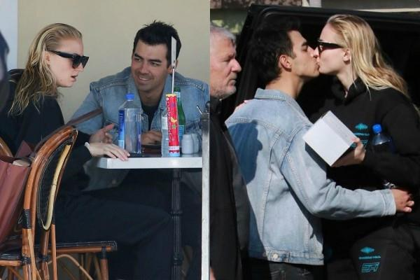 sophie turner joe jonas romantic pictures viral on internet
