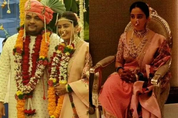 actress neha pendse tied the knot with boyfriend shardul bayas