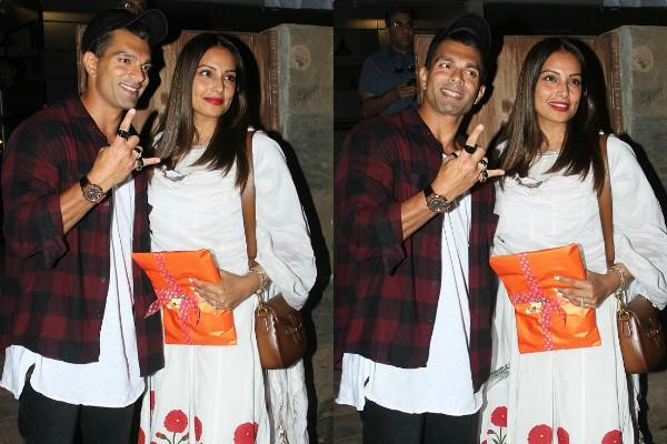 bipasha basu romantic date with husband karan singh grover