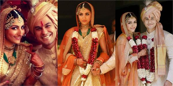 kunal kemmu soha ali khan share unseen videos of thier wedding