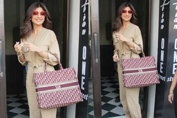 shilpa shetty spotted at restaurant