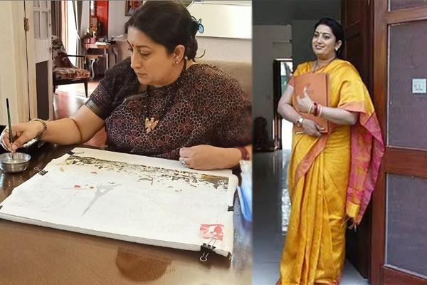 smriti irani shares picture on instagram