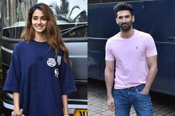 disha and aditya roy kapoor promotes film malang
