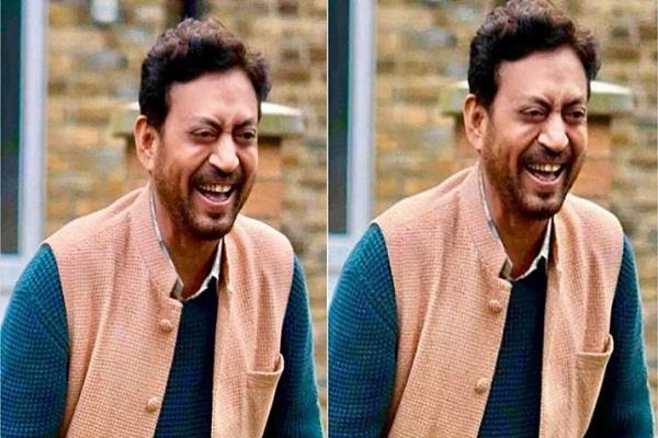 irrfan first look out from english medium