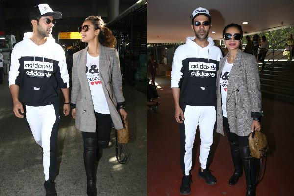 rajkumar rao spotted at airport with his girlfreind