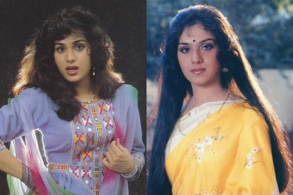 no one recognized actress meenakshi sheshadri in america