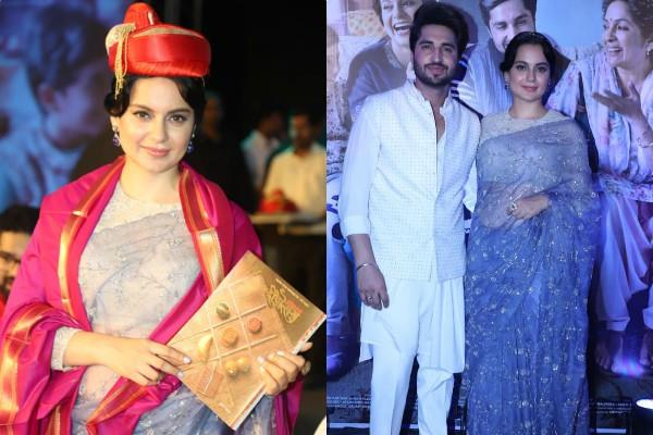 kangana and jassi gill reached pune for film promotion
